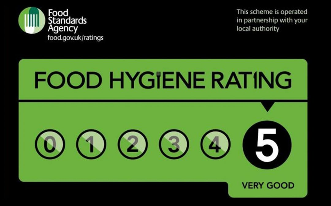 Windlesham Manor awarded a 5 star Food Hygiene Rating